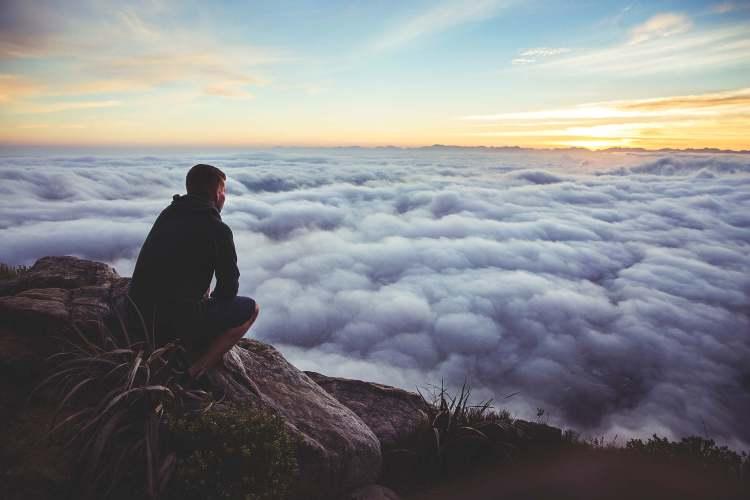 Contemplando montaña 2